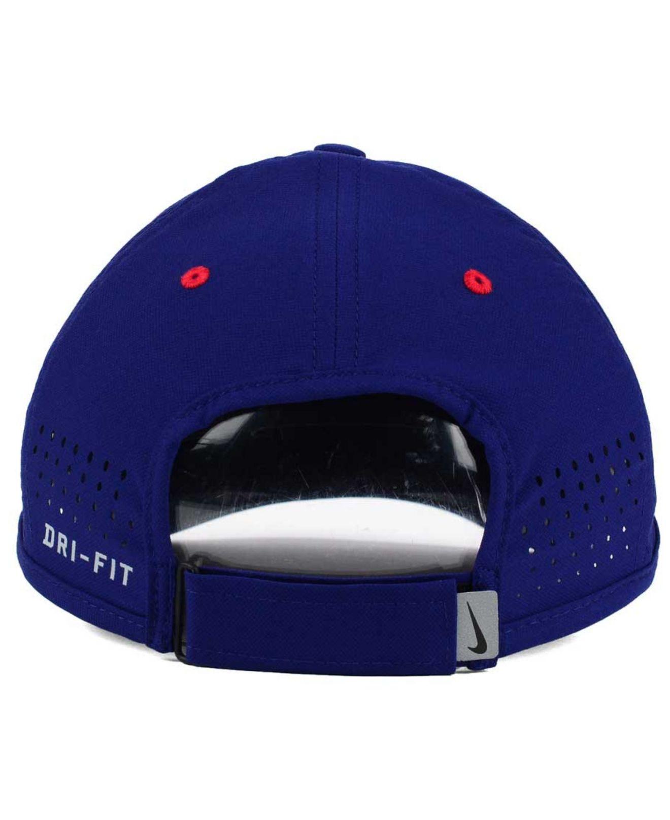 7d4073936a6d3 netherlands lyst nike texas rangers vapor swoosh adjustable cap in blue for  men 47515 bd6ea
