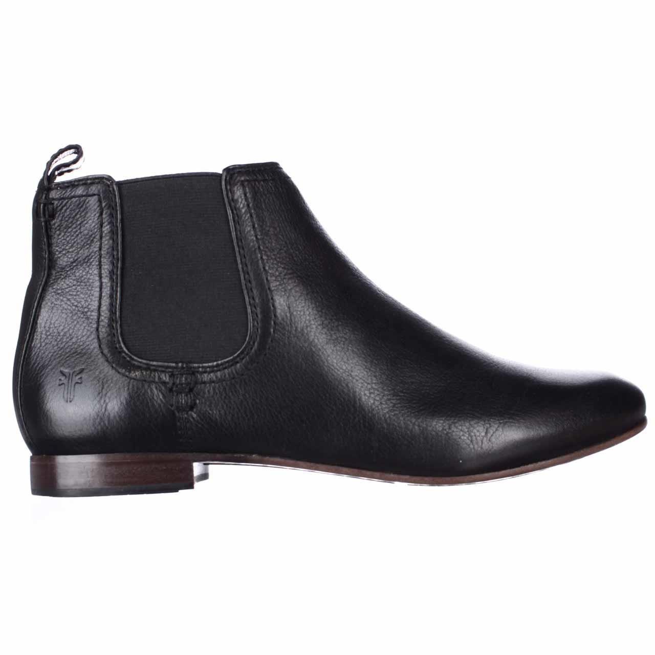 frye jillian chelsea ankle boots in black for lyst