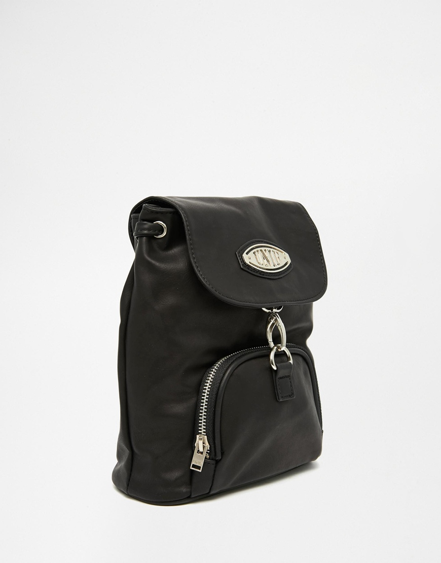 Lyst Unif Micro Quip Backpack In Black