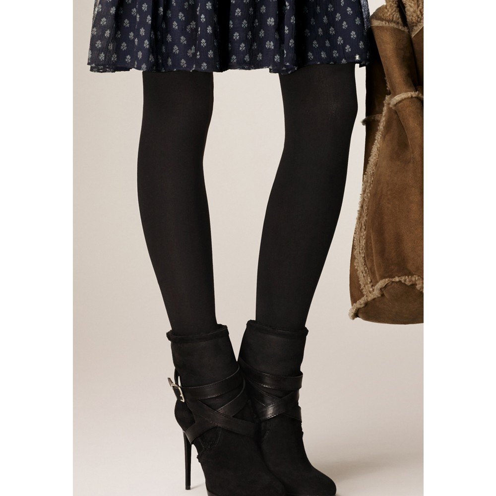 Burberry Brit Suede Ankle Boots in Black