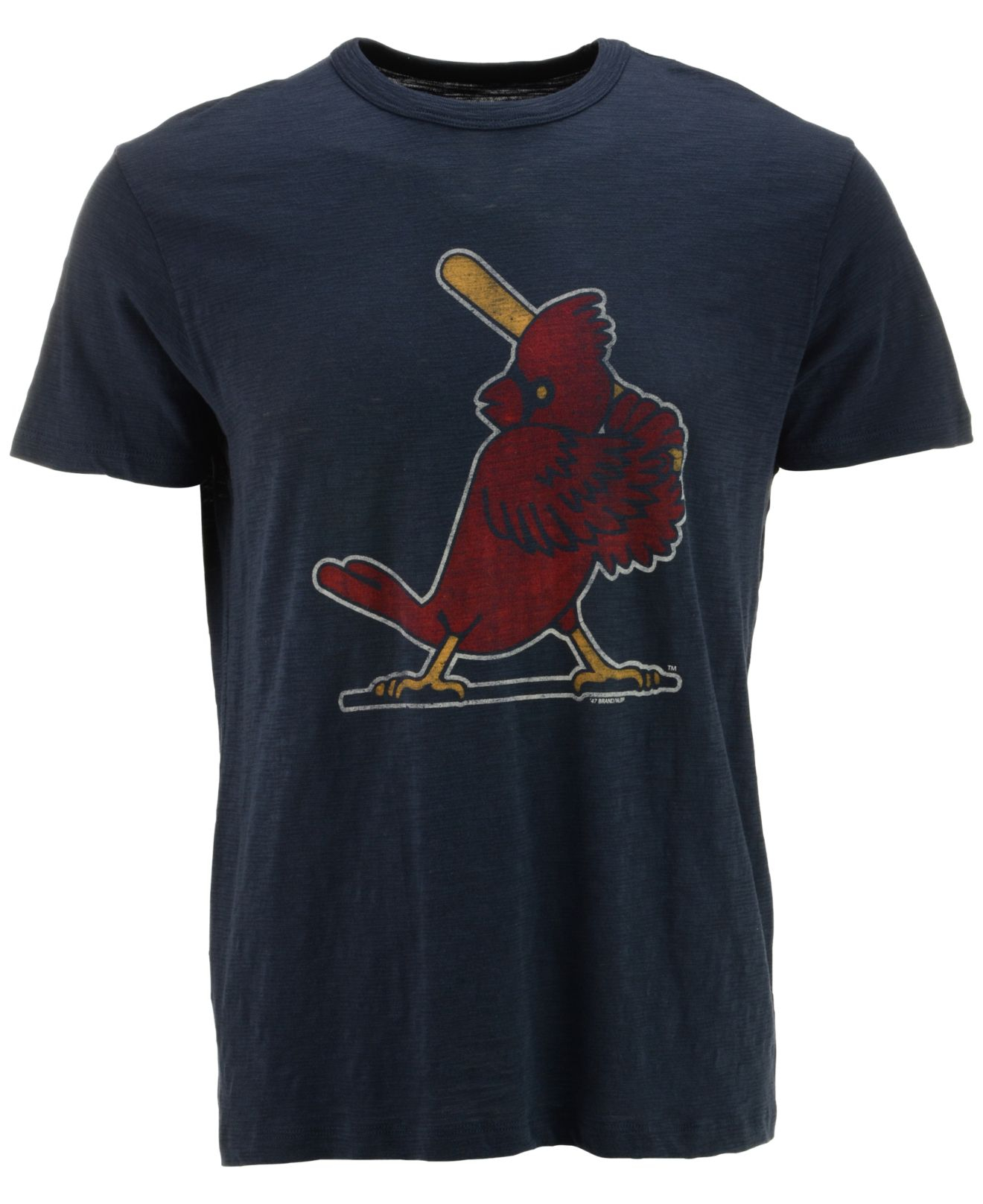 47 brand men 39 s short sleeve st louis cardinals scrum coop for St louis t shirt printing