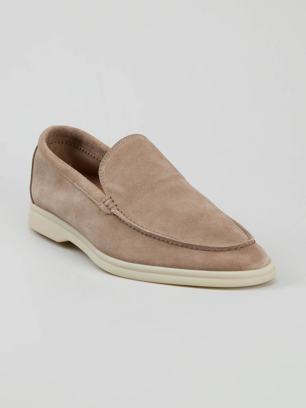 Loro Piana Casual Loafer In Natural For Men Lyst