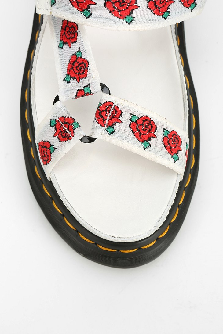 Lyst Dr Martens Aggy Rose Sandal In White
