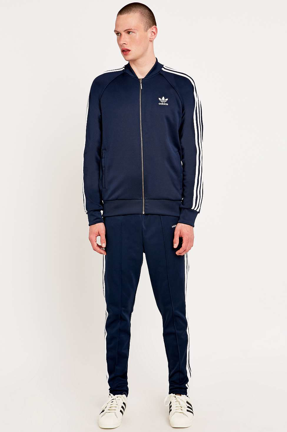 thoughts on united states special section Superstar Navy Track Top