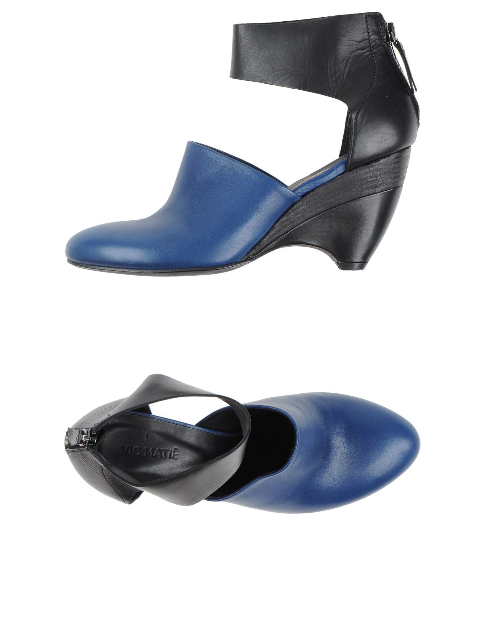vic mati sandals in blue lyst. Black Bedroom Furniture Sets. Home Design Ideas