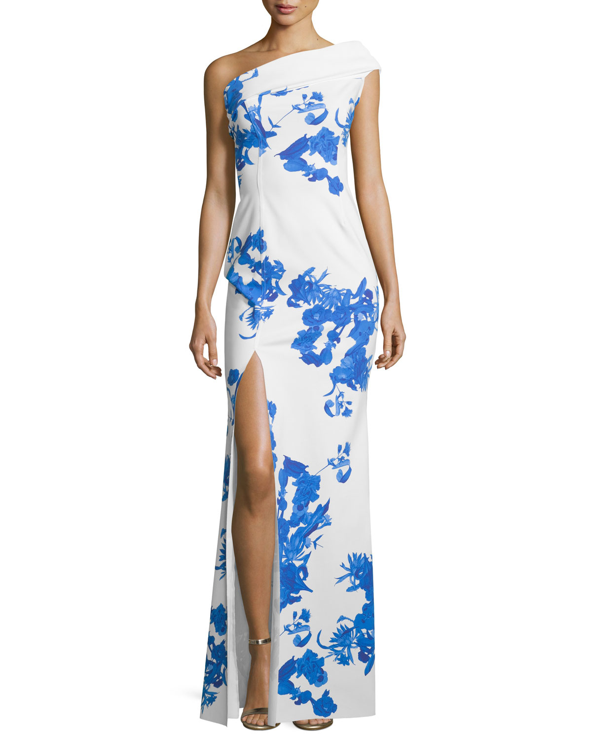 Chiara Boni The Most Popular Dress In America: La Petite Robe Di Chiara Boni Malinda One-shoulder Floral