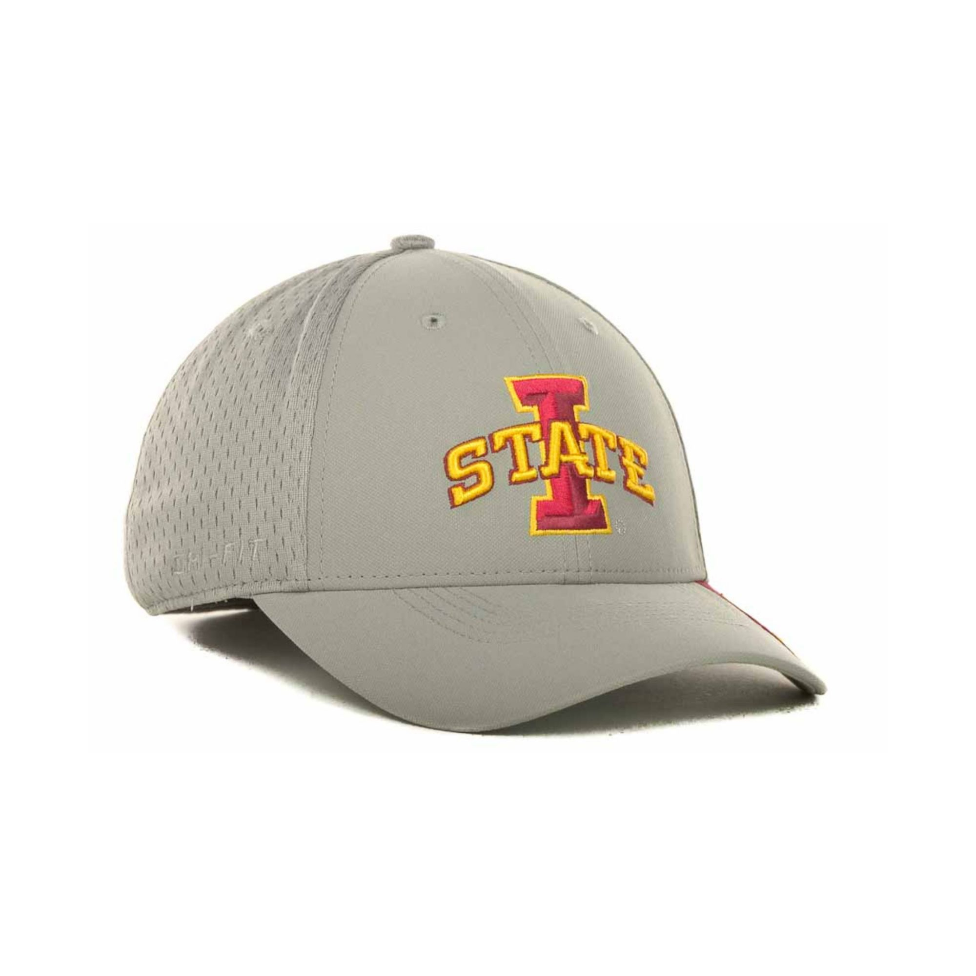new concept d8585 2a4ba ... norway lyst nike iowa state cyclones mesh swooshflex cap in gray for men  718e5 17864