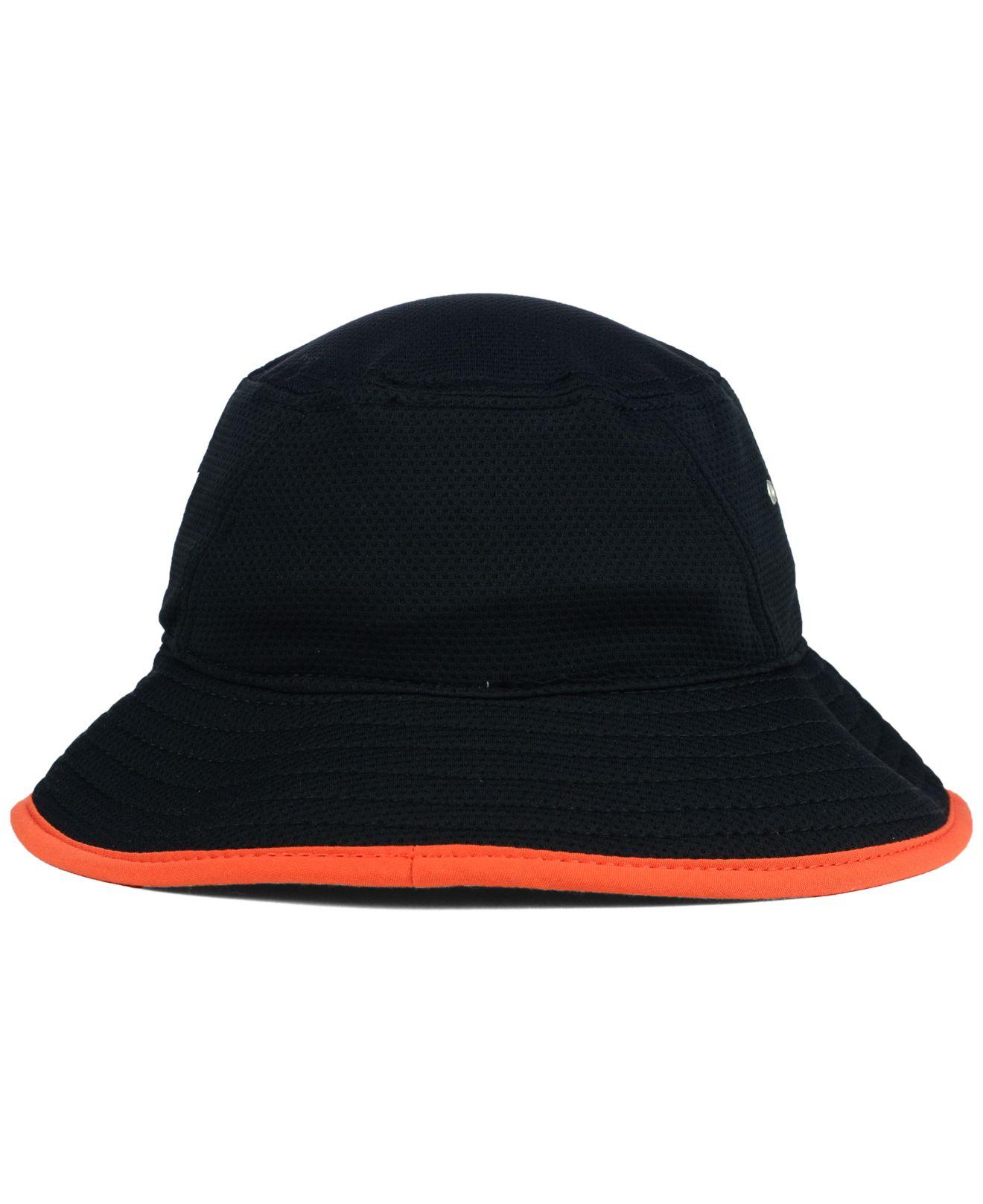 b8362ab2e25 Lyst - Ktz Chicago Bears Training Bucket Hat in Black for Men