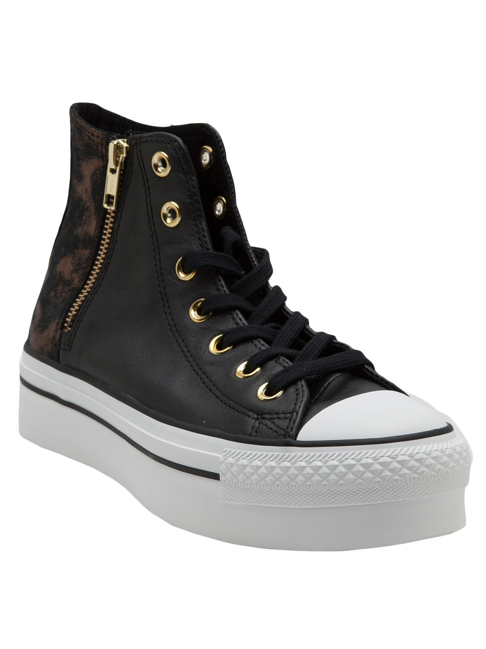 94dd4a1c2b92 Black Lyst Shoe Zip in Converse Platform FqqXwg7xH