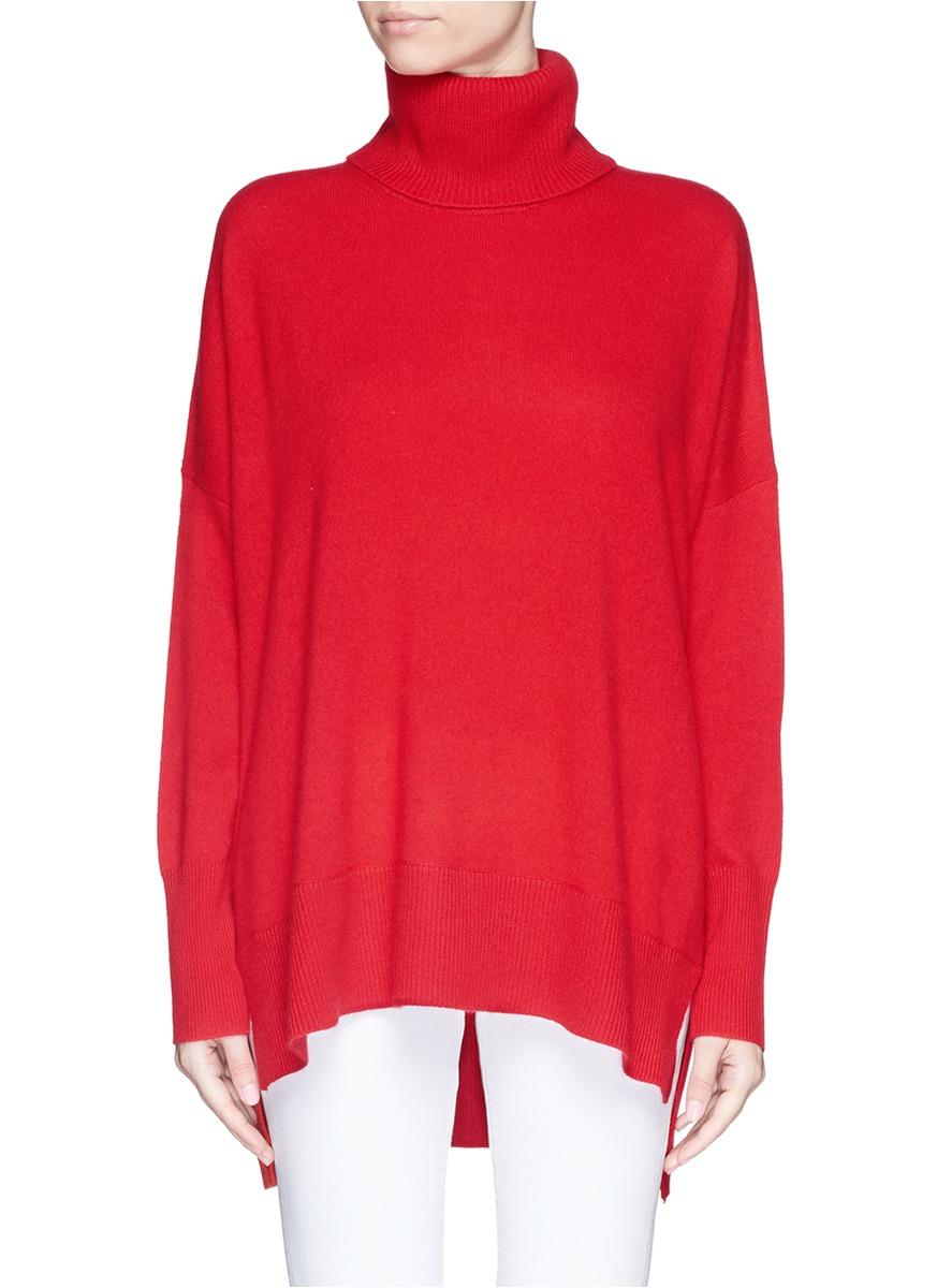 Diane von furstenberg 'chrystelle' Cashmere Turtleneck Sweater in ...