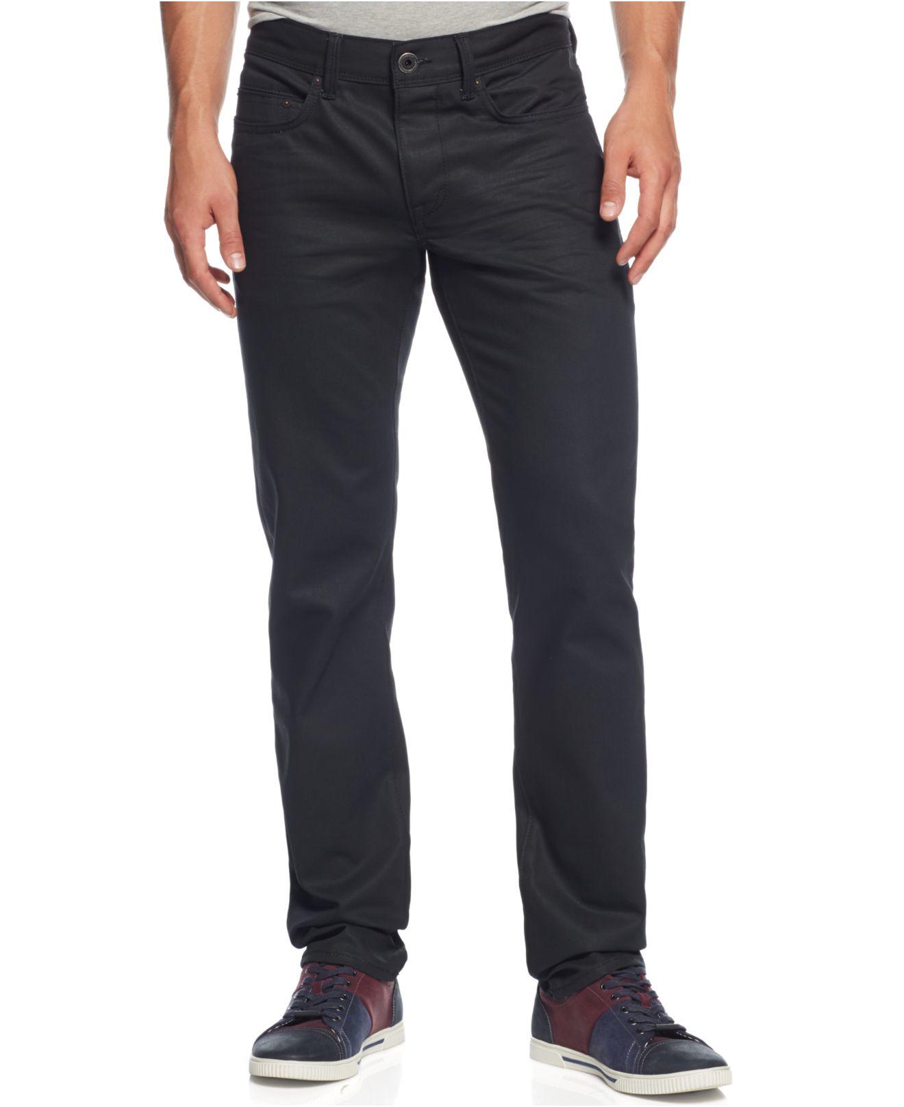dkny williamsburg slim fit jeans in black for men lyst. Black Bedroom Furniture Sets. Home Design Ideas