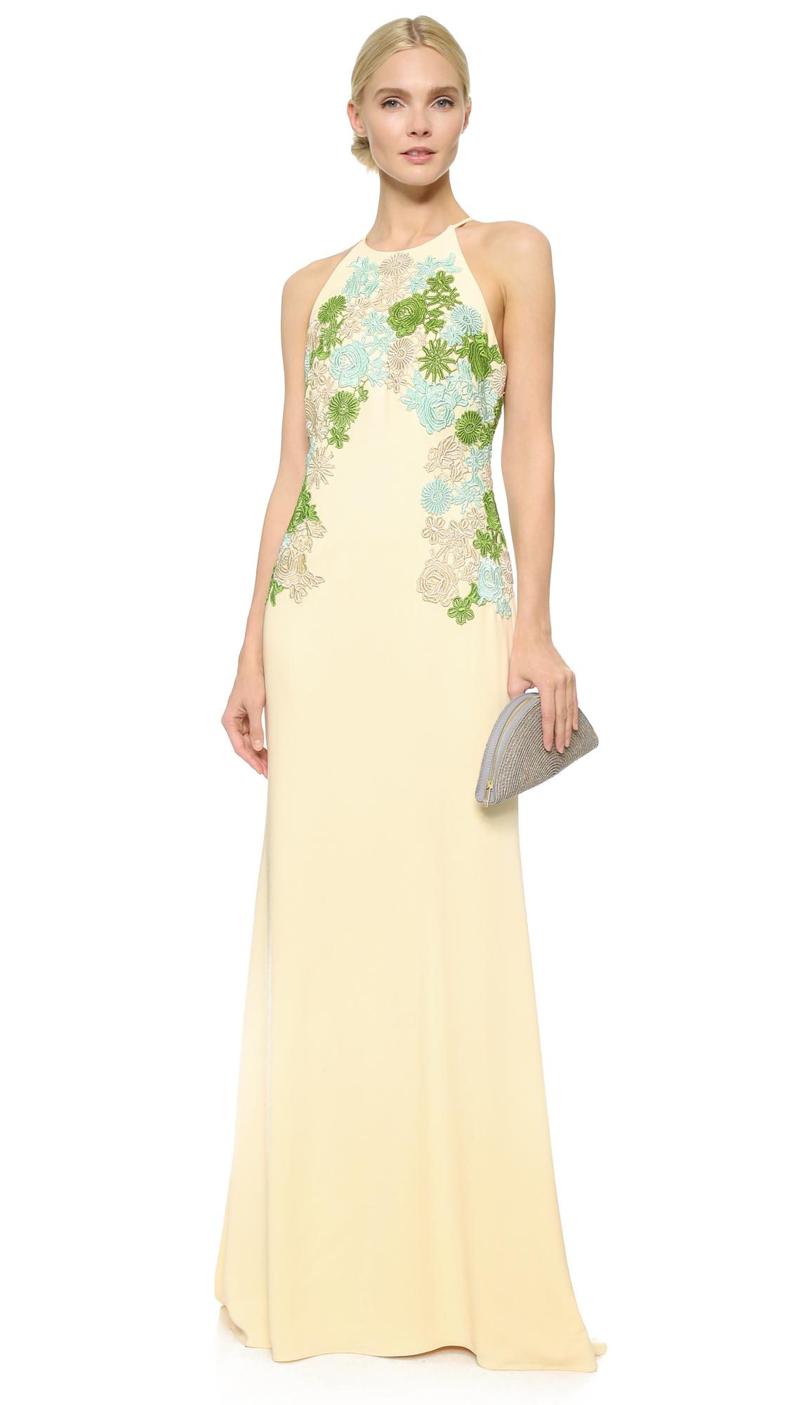 Lyst Badgley Mischka Odessa Gown