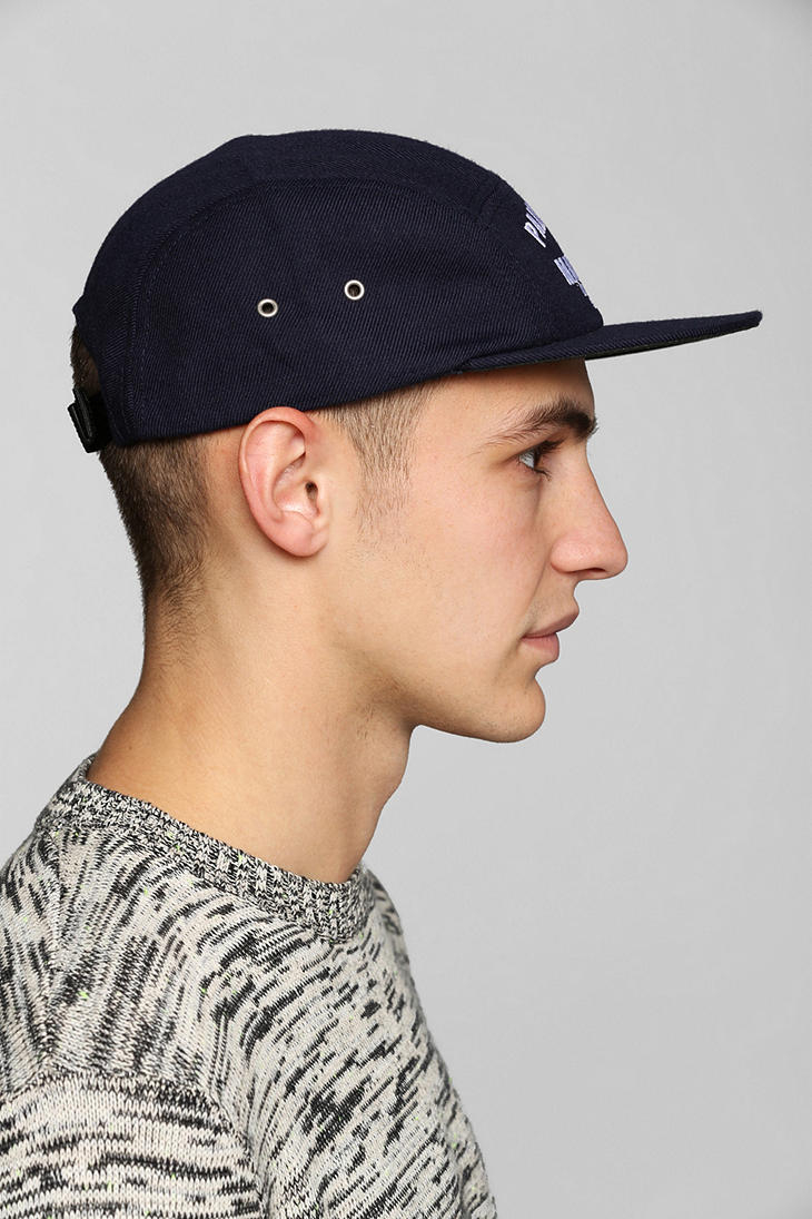 Urban Outfitters Us Versus Them Palm Tree 5panel Hat in Blue for Men ... 9a1ac1d94b3