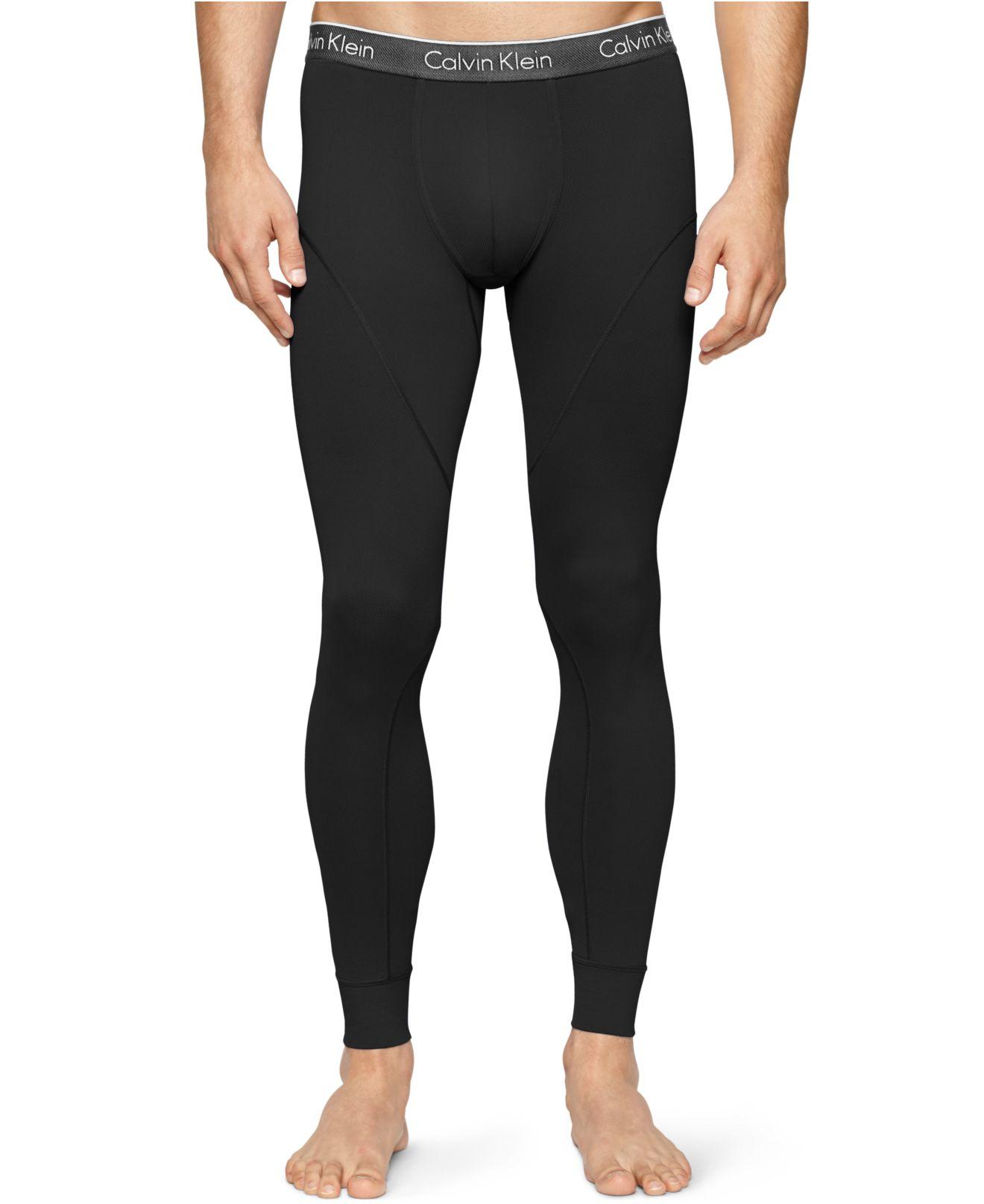 calvin klein black air men 39 s leggings for men lyst. Black Bedroom Furniture Sets. Home Design Ideas