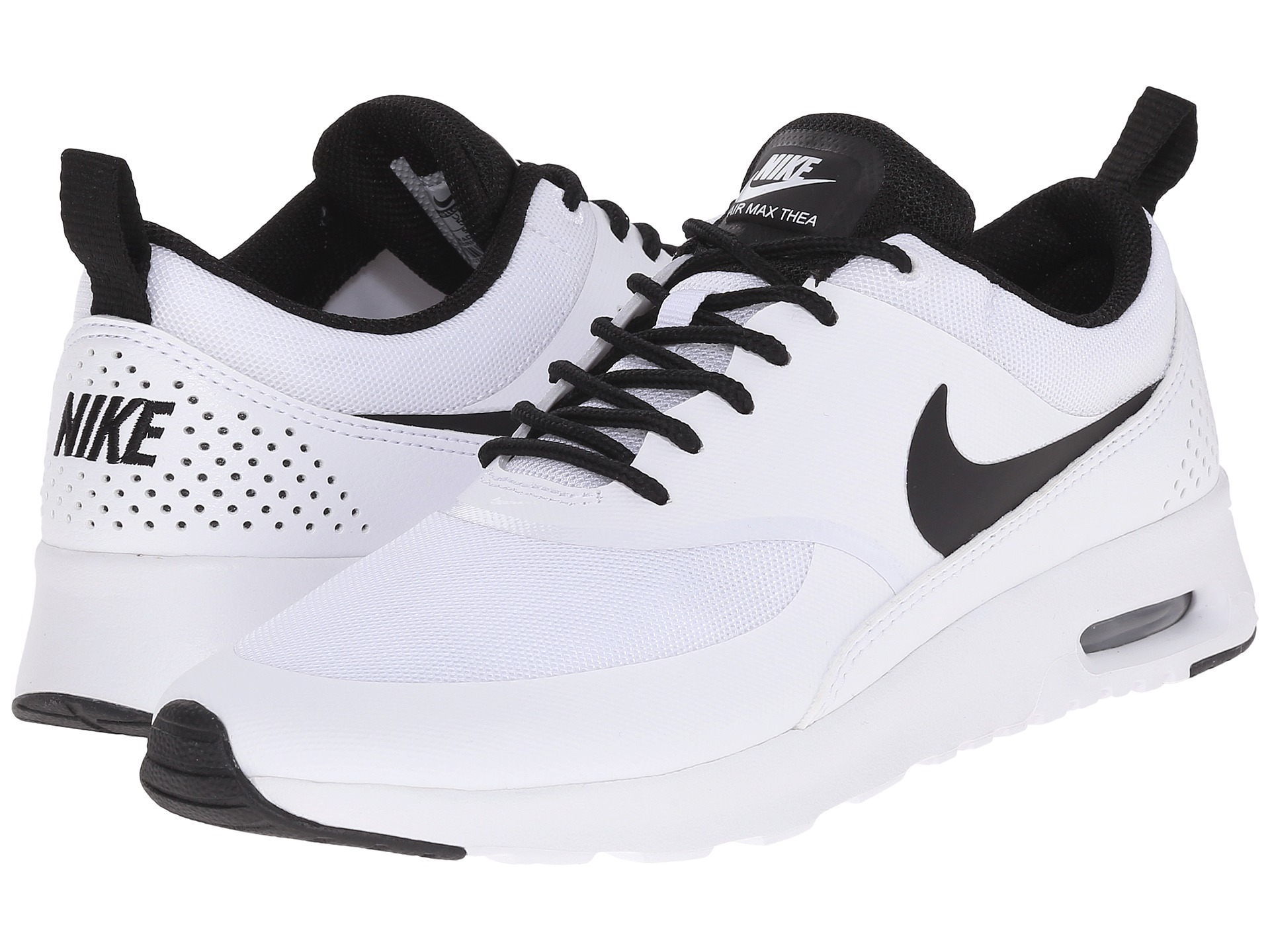 lyst nike air max thea in white. Black Bedroom Furniture Sets. Home Design Ideas