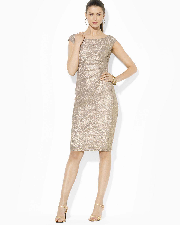 Ralph Lauren Fashion Show At New York: Ralph Lauren Lauren Dress
