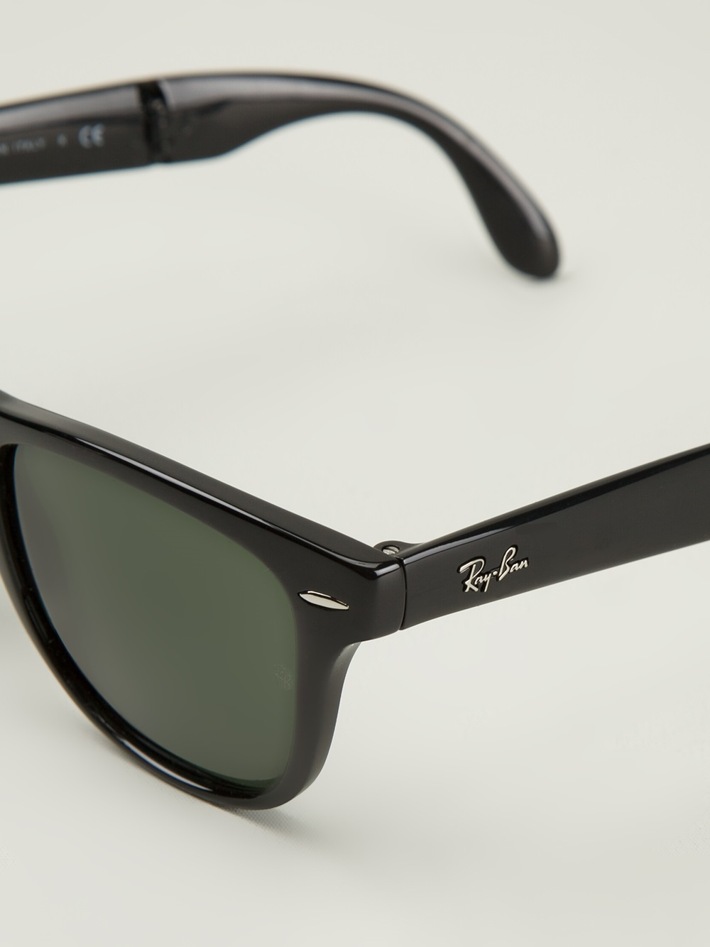 50003957cede ... promo code for ray ban square frame sunglasses in black for men lyst  ac418 4071c