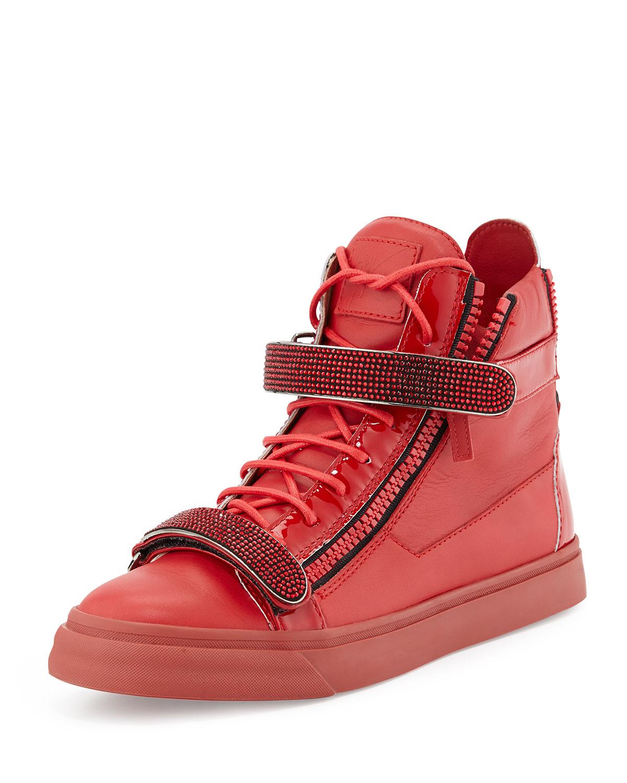 Cristal Design Zanotti Chaussures Agrémentées Giuseppe - Rose Et Violet k2HXwwyoJz