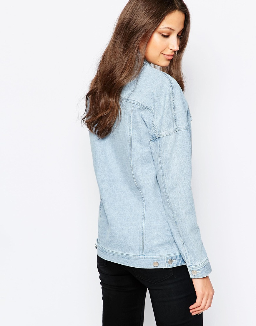 Women's Blue Tall Crystal Seam Denim Jacket See more TOPSHOP Jackets. Subscribe to the latest from TOPSHOP. Find on store. TALL crystal seam detailed oversized denim jacket. % Cotton. Color: blue Gallery. Follow us. Mobile. Learn about the new Lyst app for iPhone and iPad. gtacashbank.ga: $