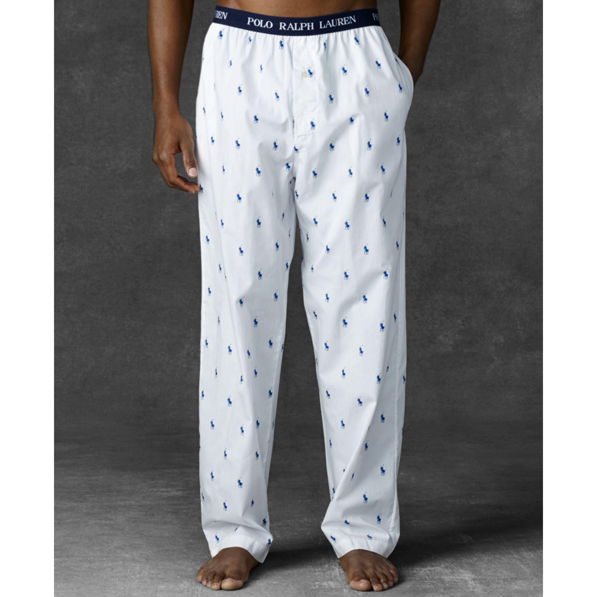 195af36d24 Lyst - Ralph Lauren Polo Mens Polo Player Pants in White for Men