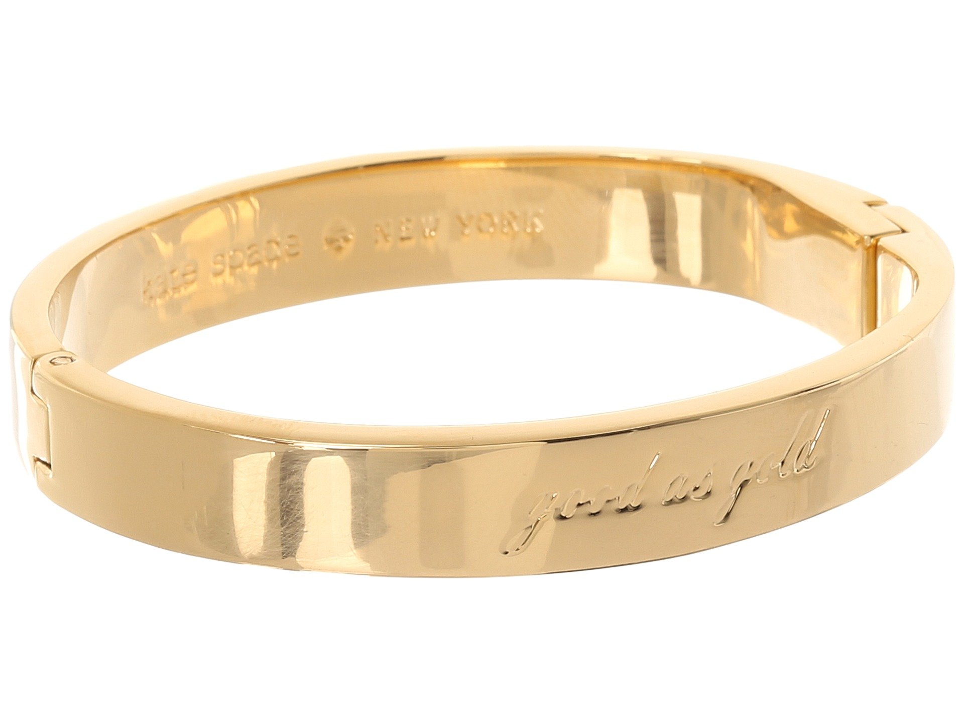 Gallery Previously Sold At Zos Women S Gold Bangles Kate Spade