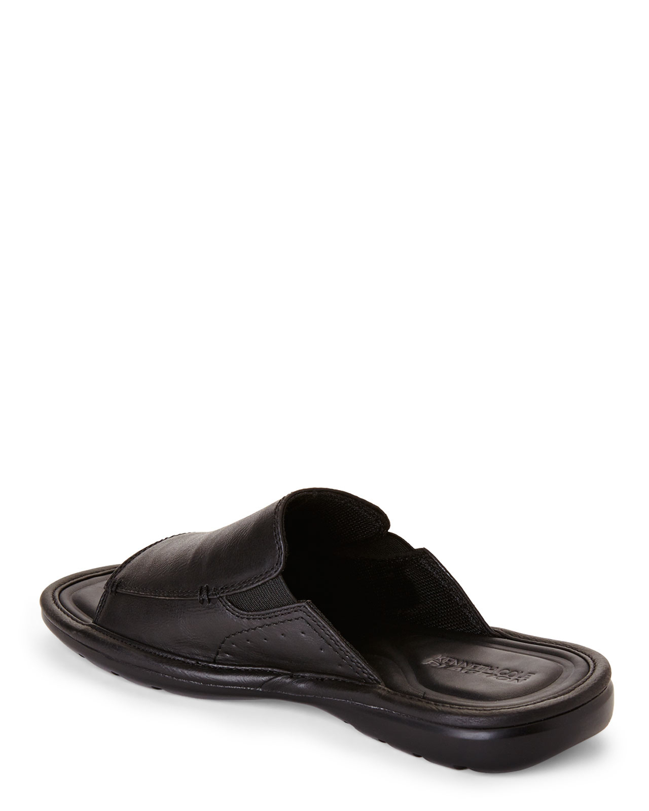 Kenneth Cole Reaction Black Day Dreaming Sandals In Black