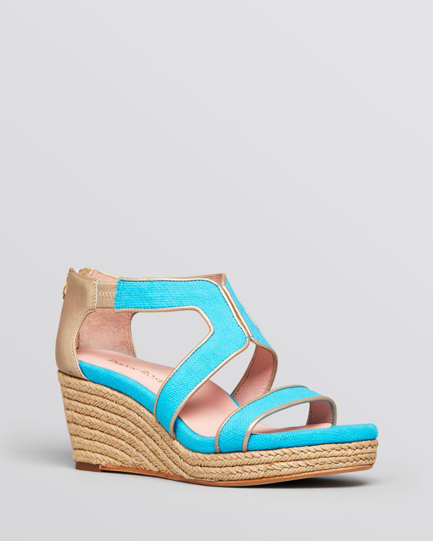 platform wedge espadrille sandals karsen in