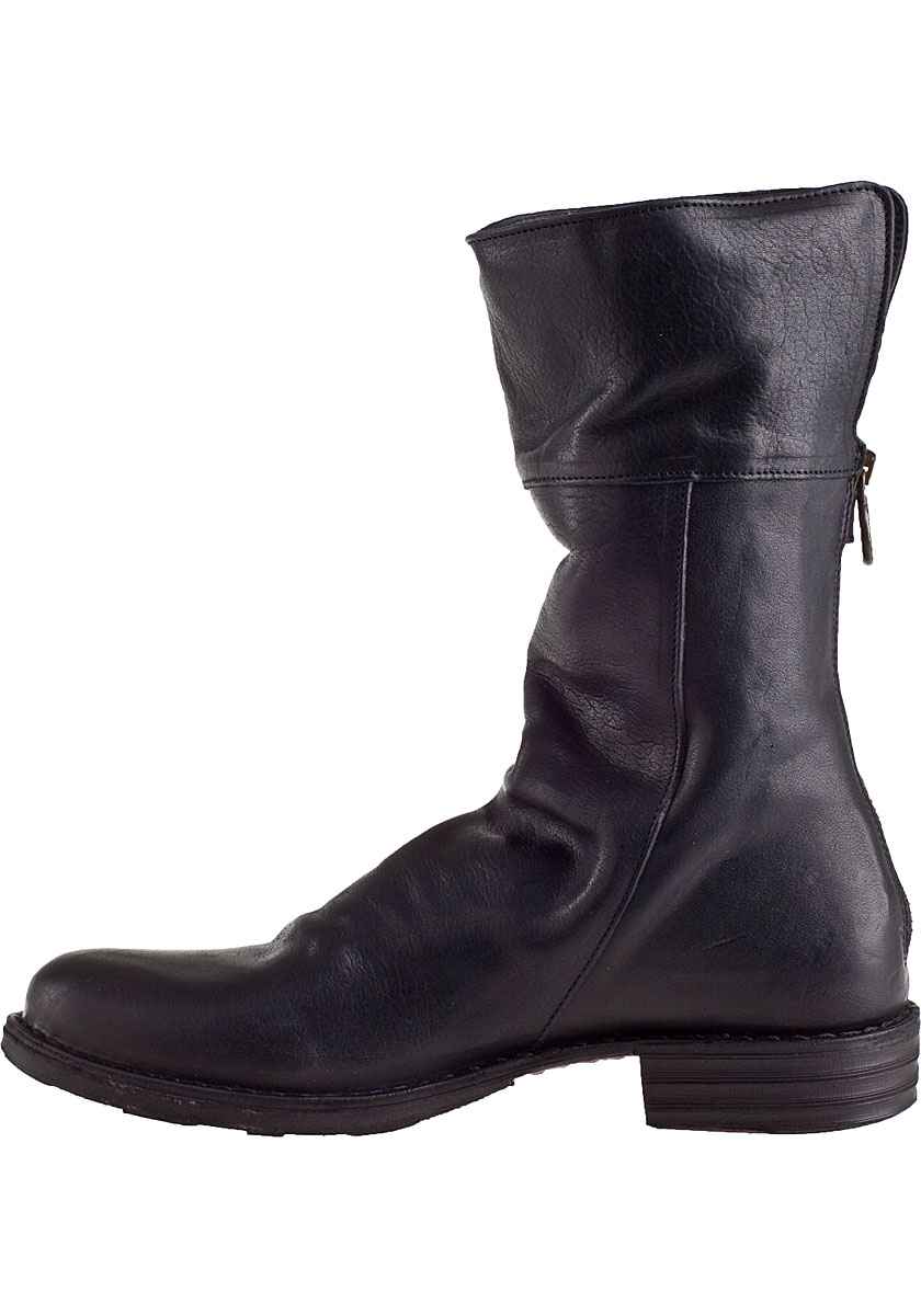 fiorentini baker eternity ella boot black leather in black lyst. Black Bedroom Furniture Sets. Home Design Ideas