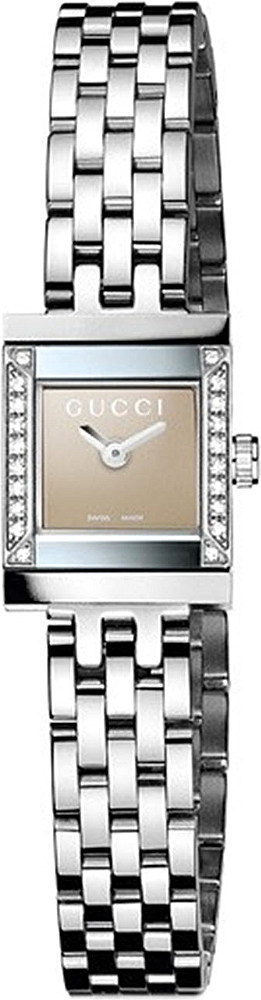 09523afebe2 Gucci Ya128508 G-frame Stainless Steel And Diamond Watch - For Women ...