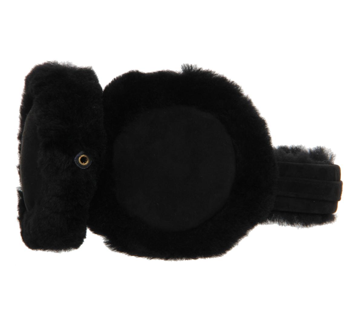 Unisex Foldable Ear Warmers Polar Fleece/kints Winter EarMuffs