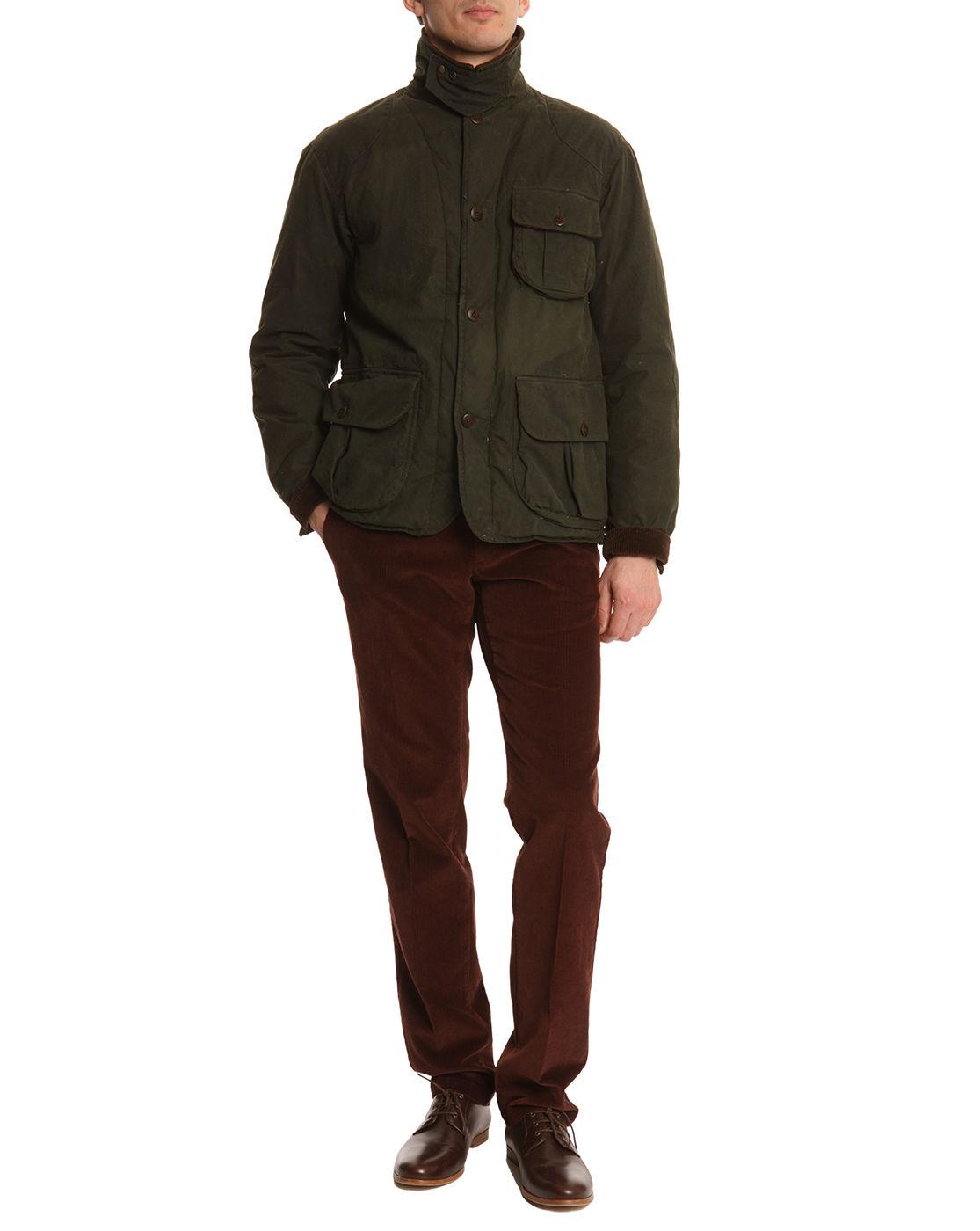 Polo ralph lauren Stretch Burgundy Brown Velvet Corduroy Trousers ...