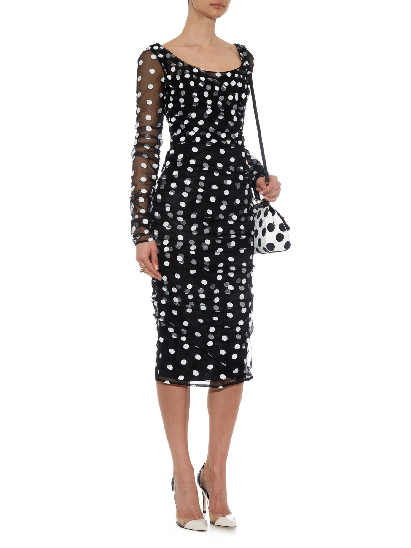 efb40182 Gallery. Previously sold at: MATCHESFASHION.COM · Women's Polka Dot Dresses