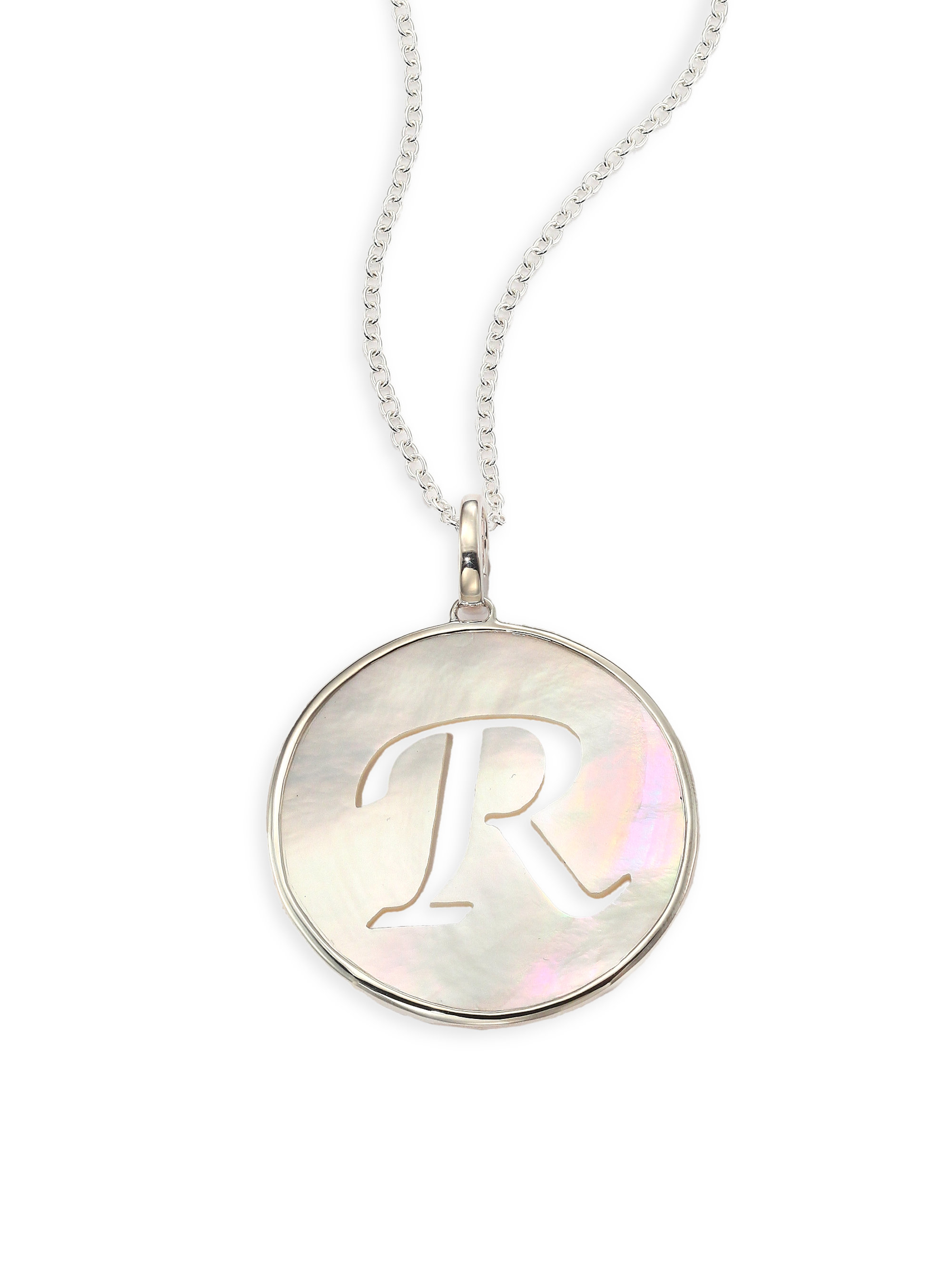 Ippolita Mother Of Pearl Amp Sterling Silver Initial Charm
