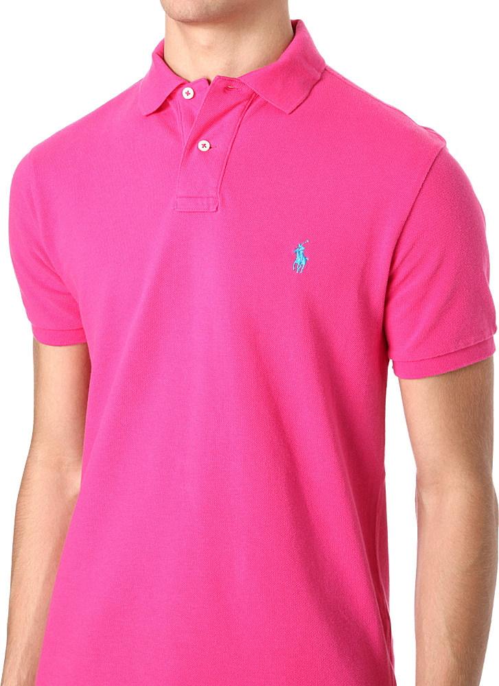 Lauren Uk 31dd4 Mens Pink T Ralph 74f6e Shirt kZPXui