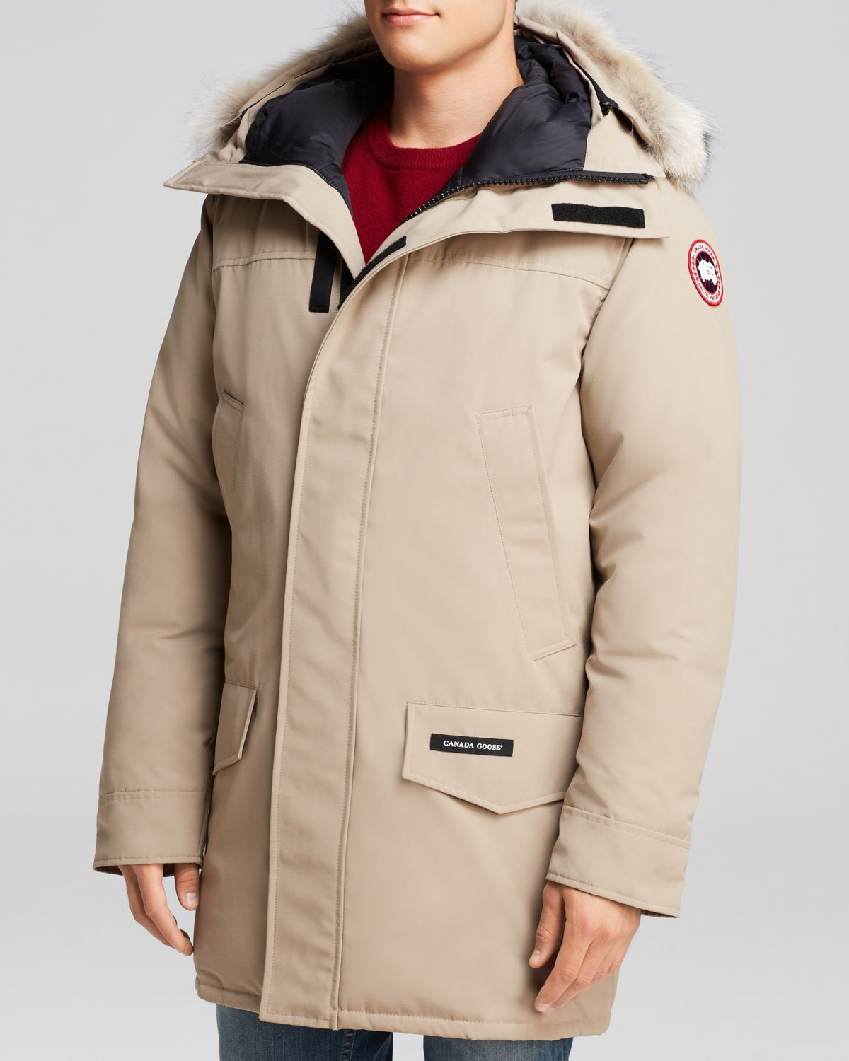 e2104d30838 Canada Goose Langford Parka With Fur Hood in Natural for Men - Lyst