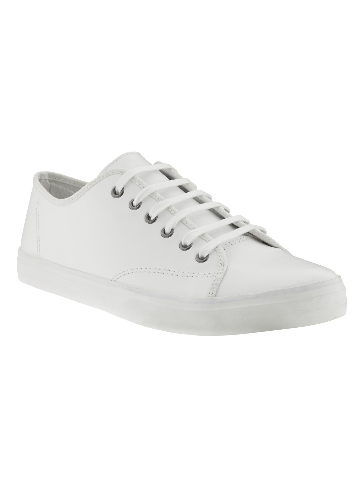 Banana Republic Logan Sneaker in White