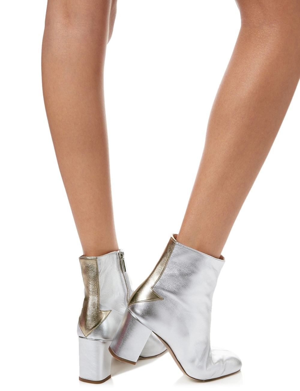 Camilla Elphick Silver Lining Ankle Boots In Metallic Lyst