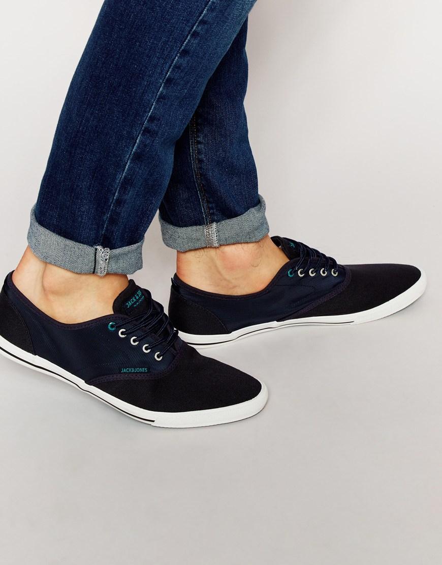 Lyst - Jack   Jones Spider Nylon Sneakers in Blue for Men c48b365a85e8