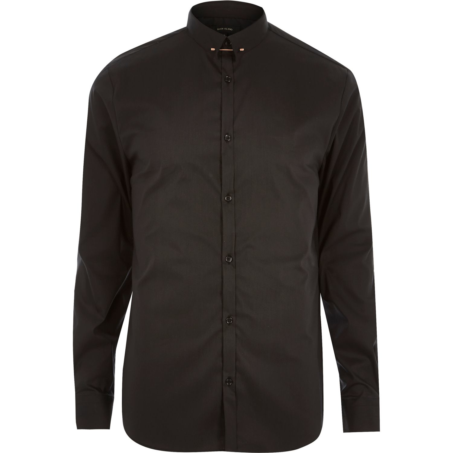 River Island Space Button Shirt