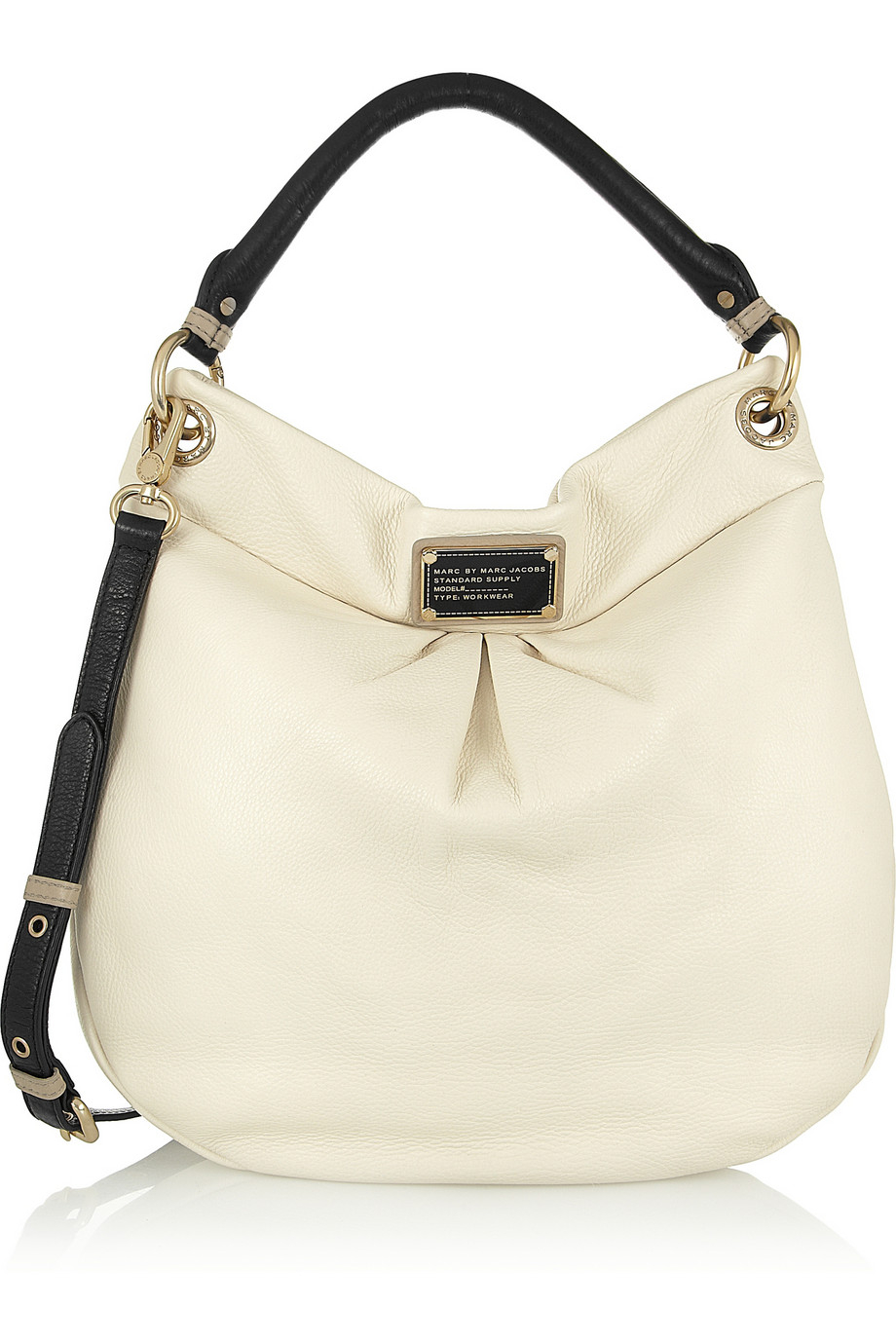 3a2009deef512 Marc By Marc Jacobs Classic Q Hillier Hobo Textured-Leather Shoulder ...