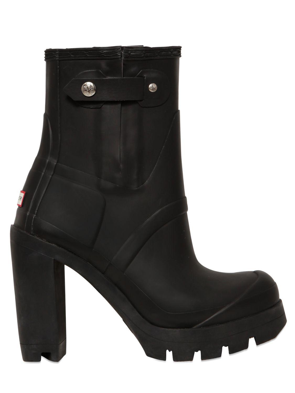 Hunter 110mm Original High Heel Boots In Black Lyst
