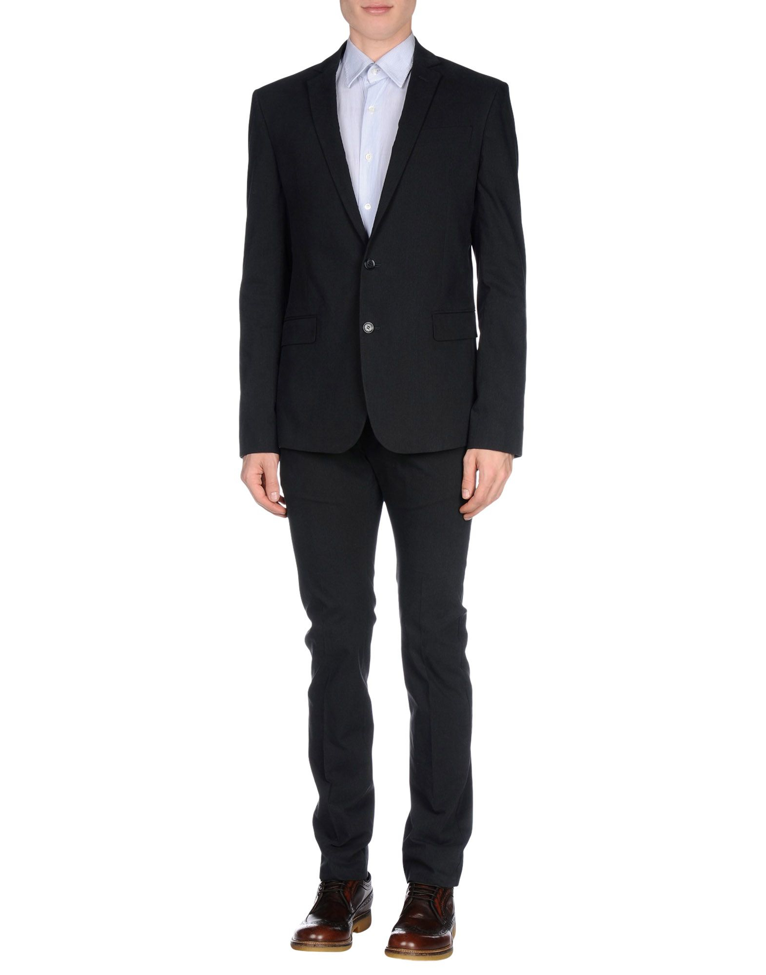 Lyst Gianfranco Ferr 233 Suit In Gray For Men