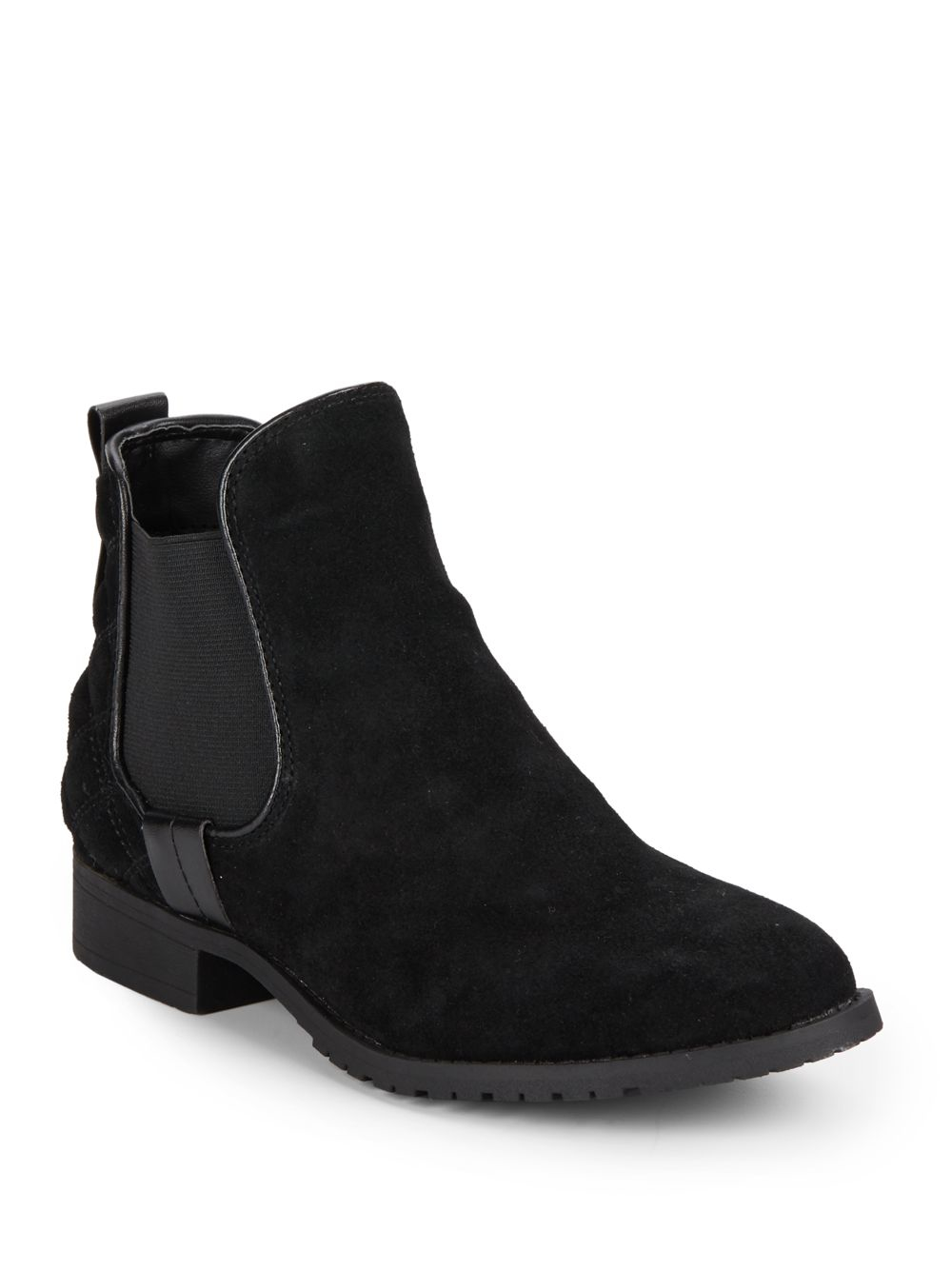 Steve Madden Peyton Quilted Suede Ankle
