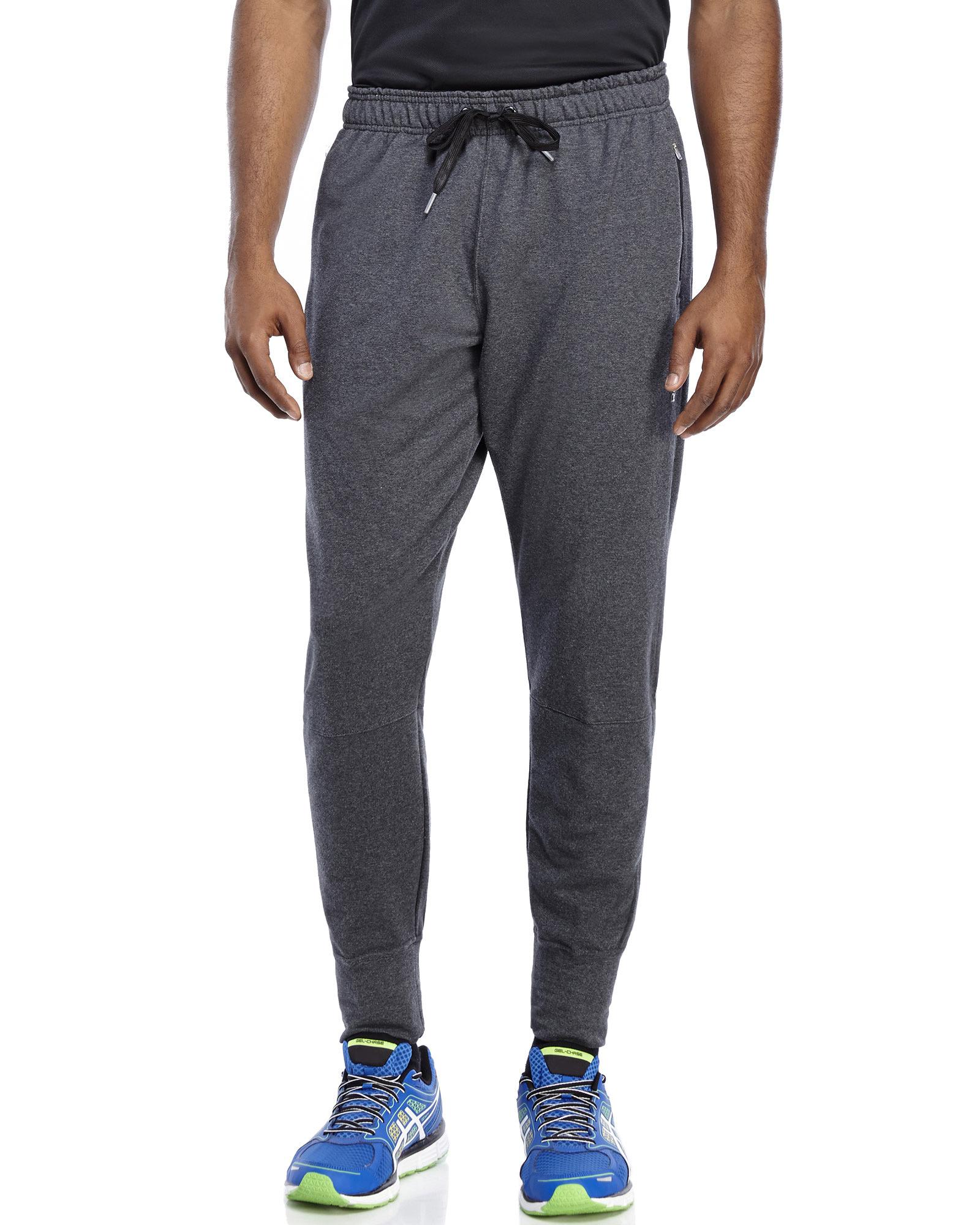 dda049470a Reebok Gray Charcoal Double Time Sweatpants for men