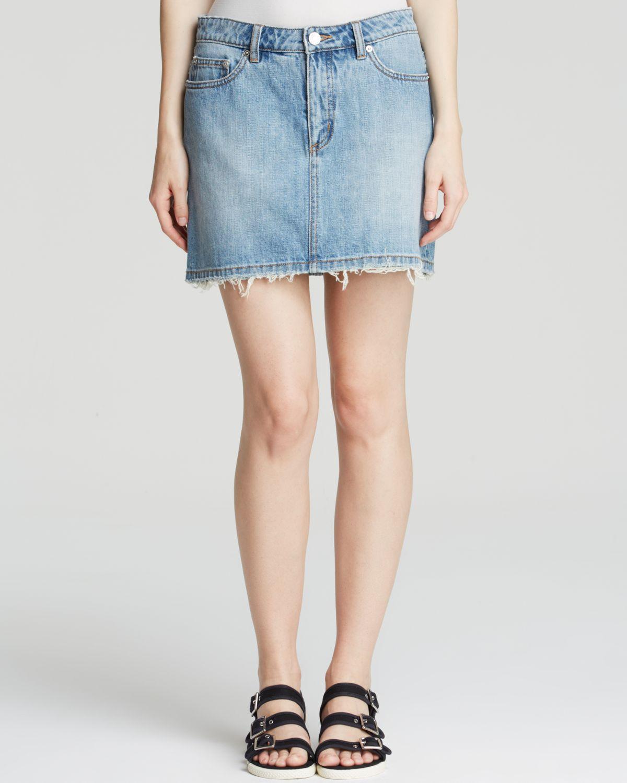 7911df8b29 Lyst - Marc By Marc Jacobs Mini Skirt - Denim Icon in Blue
