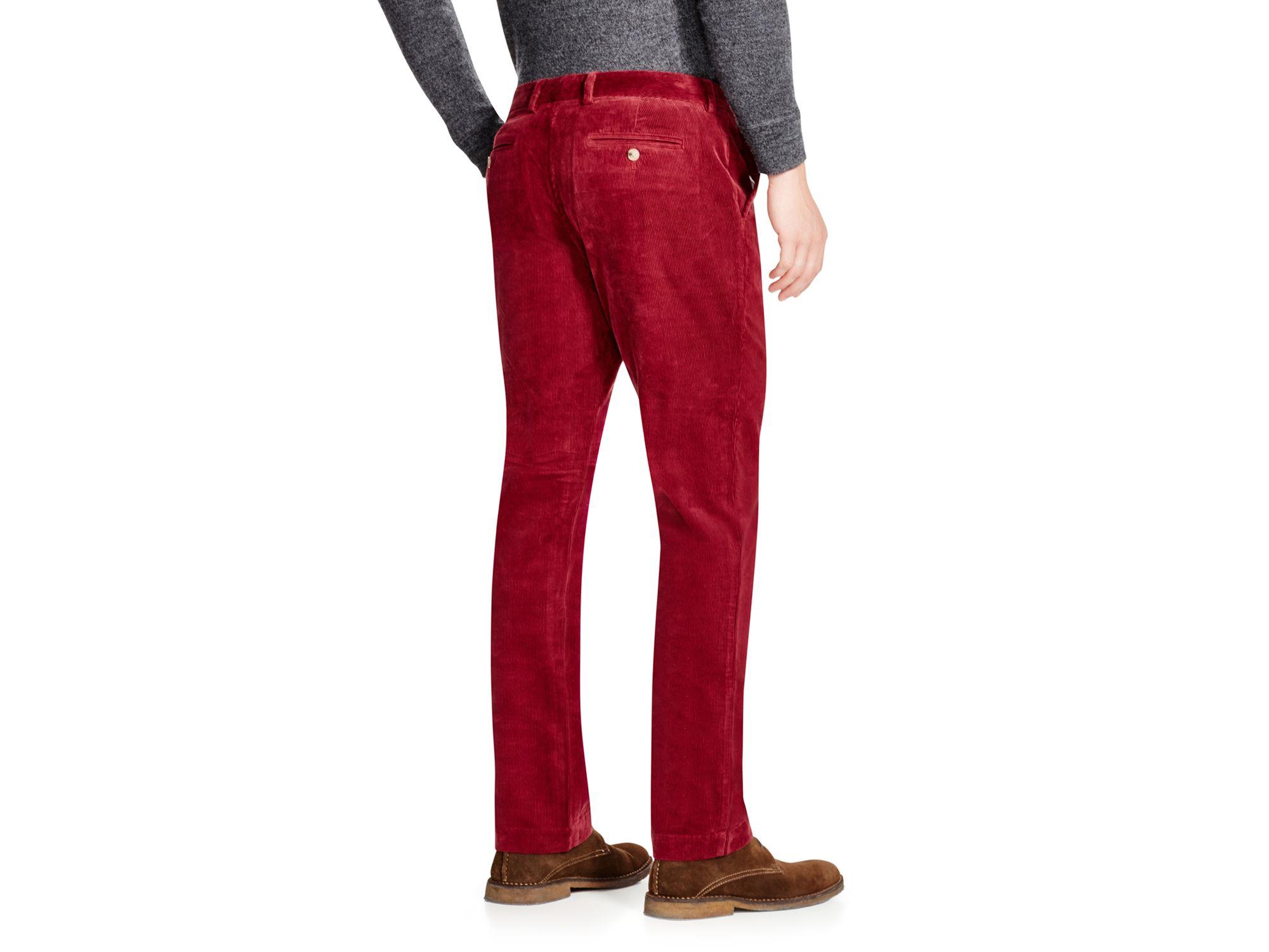10 Vineyard Vines Boys Boys Breaker Corduroy Red Pants