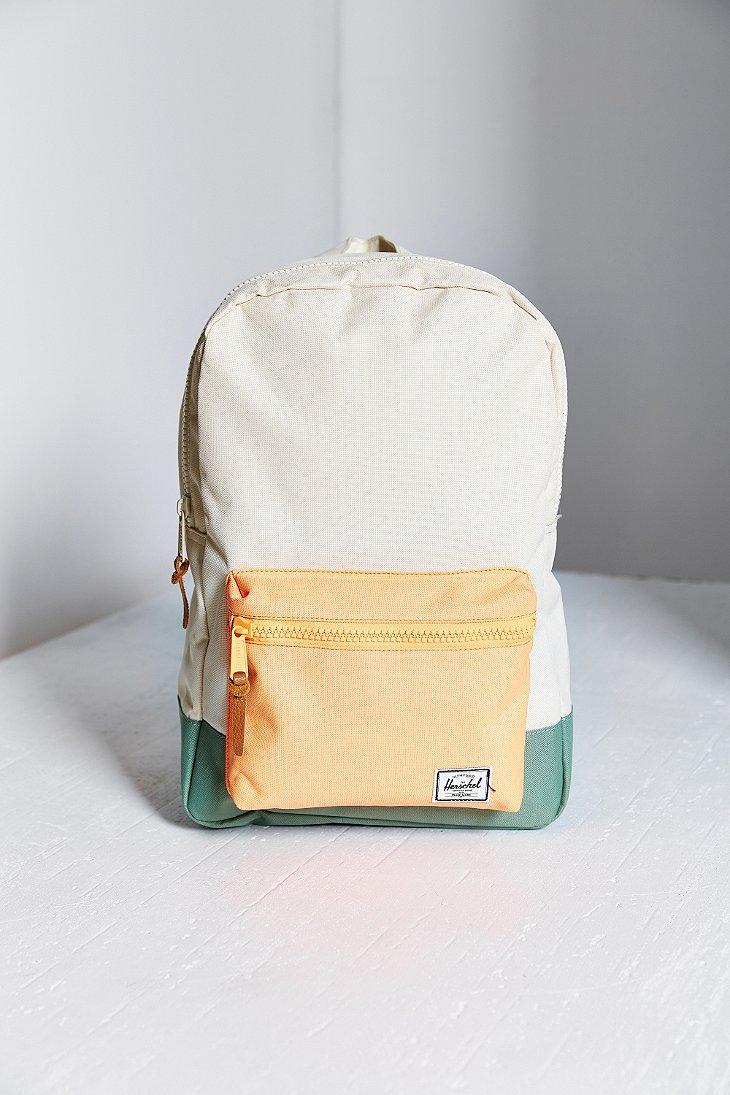 f6e9037ff1 Herschel Supply Co. Settlement Backpack in White - Lyst