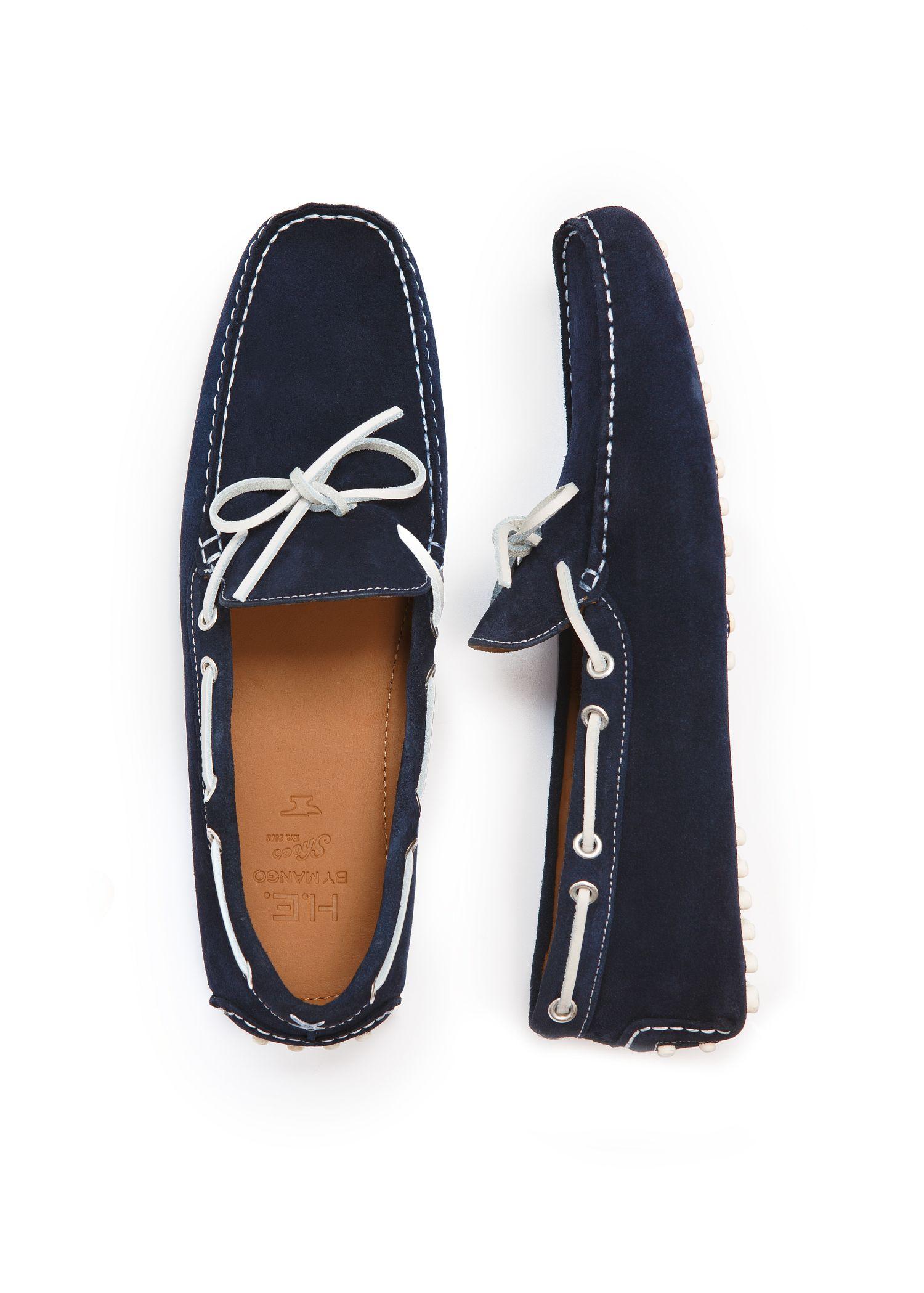 Lyst Mango Shoe Gomets C In Blue For Men