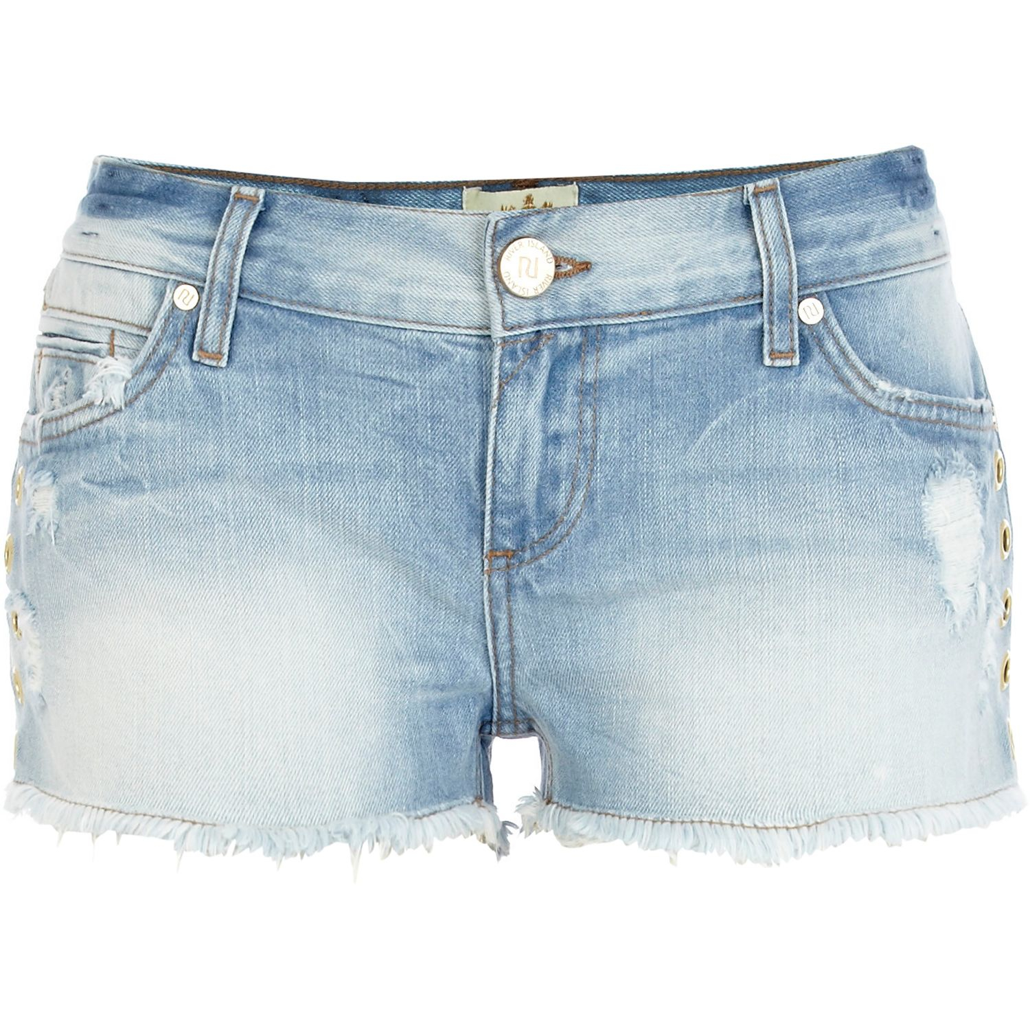 Light Wash Jean Shorts - The Else
