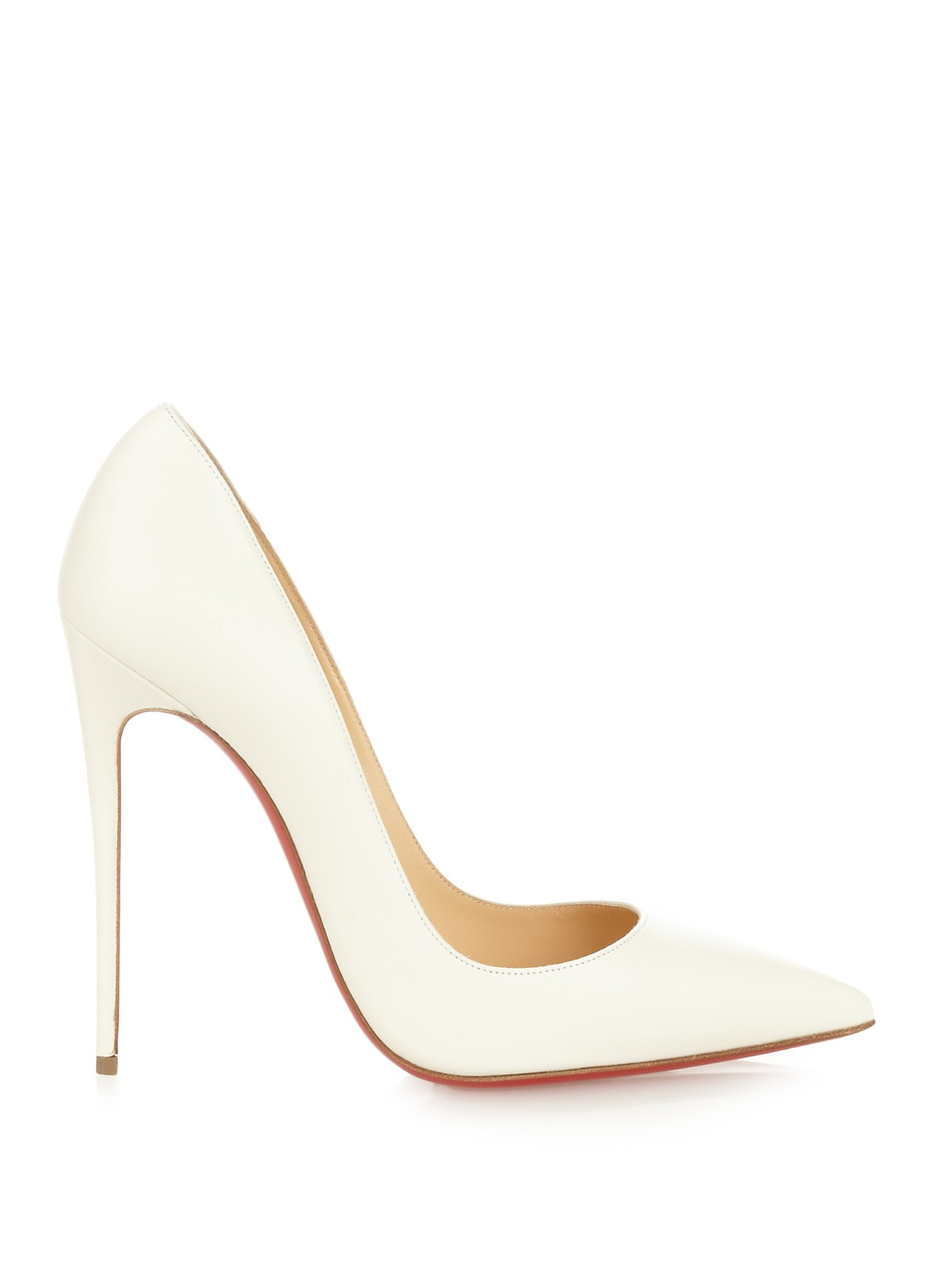 low priced 95866 7c890 Women's White So Kate Leather Pumps